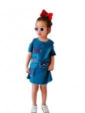 RAPAPA Kız Çocuk Trend Muhteşem Elbise 2805-3