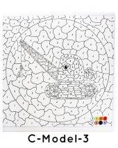 Çocuklar İçin Mandala Boyama 12 Renk Faber Castell Kuru Boya-10