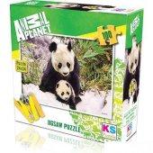 Sevimli Panda 100 Paçra Puzzle