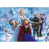 Lisanslı Frozen 104 Parça Puzzle