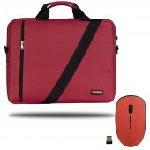 Classone Bnd202 Eko Serisi Notebook Çantası+ T89 Kablosuz Mouse