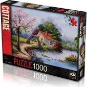 1000 Parça Lake House Puzzle