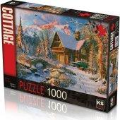 1000 Parça Winter Holiday Puzzle