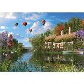 1000 Parça The Old River Cottage Puzzle