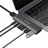 Type-C Dönüştürücü HDMI 4K UHD Adaptör Yüksek Veri Transferi Destekli Dual Girişli-4
