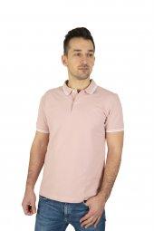 Erkek Pembe Polo Yaka T-shirt
