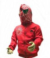Spiderman Erkek Çocuk Maskeli Hırka