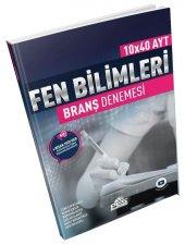 AYT Fen Bilimleri 10x40 Deneme Pes Yayınları