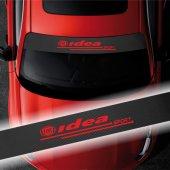 Fiat İdea için Karbon Ön Cam Oto Sticker