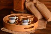 Bambum Kallavi 2 Kişilik Kahve Takimi Desen...