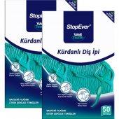Stopever Kürdanlı Diş İpi 2 X 50 Adet