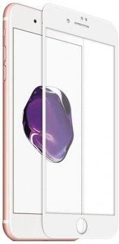 iPhone 7 Tam Kaplayan Ekran Koruyucu Beyaz