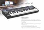 N Audio Midi Keyboard 49