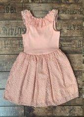 Edel Weiss Kız Çocuk Fiyonk Elbise 40963