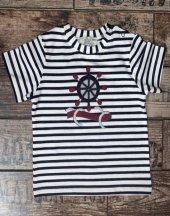 Edel Weiss Erkek Bebek Dümenli Tshirt 11524