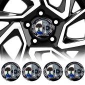 AMG Jant Göbeği Göbek Arması Sticker 4lü Set Carmaniaks CRME0479