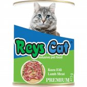 Reys Cat Kuzu Etli Konserve Kedi Maması 415gr 24 Adet