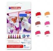 Edding Porselen Kalemi 6lı Set Sıcak Renkler (E 4200)
