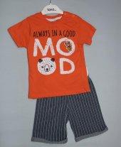 Badebaby Erkek Bebek Şortlu Takım 10015