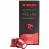 Kimbo Napoli Nespresso Kapsül Kahve (10 Luk Kutuda)