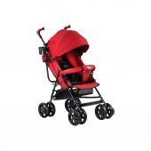 Babyhope Sa 7 Tam Yatar Baston Bebek Arabası Kırmızı