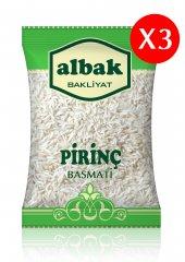 Albak Basmati Pirinç X3 Adet 1 Kg