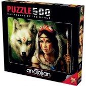 500 Parça Savaşçı Prenses Puzzle