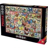 1000 Parça Kelebekler Puzzle