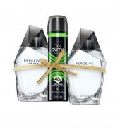 Avon Perceive Erkek Parfüm Seti