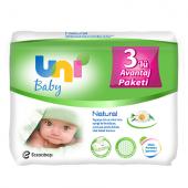 Uni Baby Papatya Özlü Islak Havlu 56 Adet