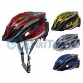 32269 Bisiklet Kaskı Yetişkin 58 62 Cm L Xl Karışık Renk