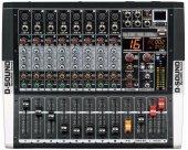 D Sound M 800p 8 Kanal Power Mixer