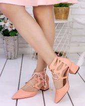 Lilla Pudra Cilt Topuklu Ayakkabı-2