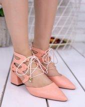 Lilla Pudra Cilt Topuklu Ayakkabı-3