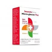 İmuneks Micro-Glucan Plus Çinko D ve C Vitamini 30 Kapsül (SKT:12/2023)