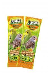 Jungle Ballı Muhabbet Kuşu Krakeri 3lü