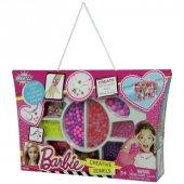 Dede Barbie Çantalı Boncuk Takı Seti