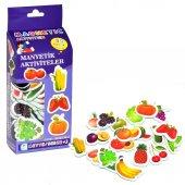 30 Parça Manyetik Meyve Ve Sebzeler