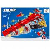 Lego Bricks 1472 Parça Uzay Gemisi