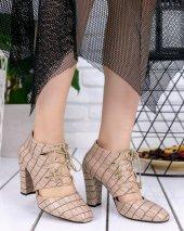 Jocey Vizon Cilt Desenli Topuklu Ayakkabı-2