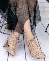 Jocey Vizon Cilt Desenli Topuklu Ayakkabı-3