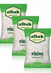 Albak Osmancık Pirinç X3 Adet 1 Kg