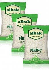 Albak Yerli Pilavlık Pirinç X3 Adet 1 Kg
