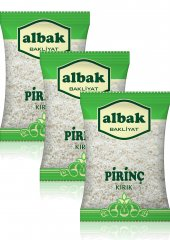Albak Baldo Kırık Pirinç X3 Adet 1 Kg