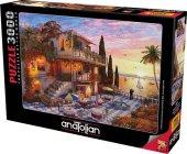 Anatolian Puzzle3000 Pcsakdenizde Romantizm Mediterranean Romance