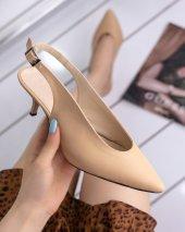 Arlin Ten Cilt Topuklu Ayakkabı