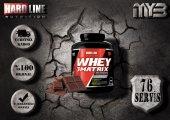 Hardline Whey 3 Matrix 2300 Gr 76 Servis Protein Tozu 4 Farklı Aroma