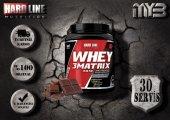 Hardline Whey 3 Matrix 908 Gr Base 30 Servis (Kreatinsiz) Whey Protein Tozu Çikolata Aromalı