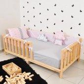 Montessori Süs Yastık Set Kenar Koruma Nevresim Takımı 90X190 110