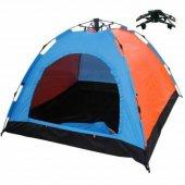 6 Kişilik Otomatik Açılır Kamp Çadırı 220x250x165 Cm